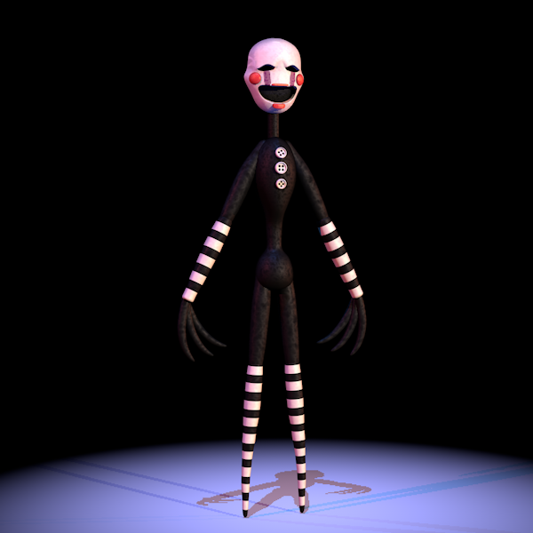 Pin By Wendy Davis On Fnaf Sfm Puppet Marionette In 2020