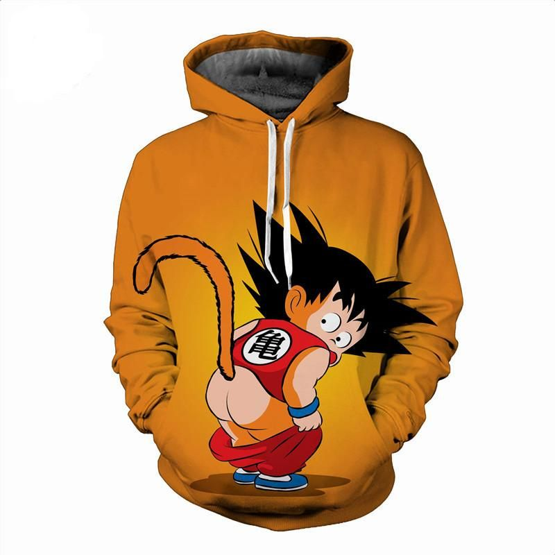 Funny Kid Goku Kid Goku Hoodies Sweatshirts Hoodie
