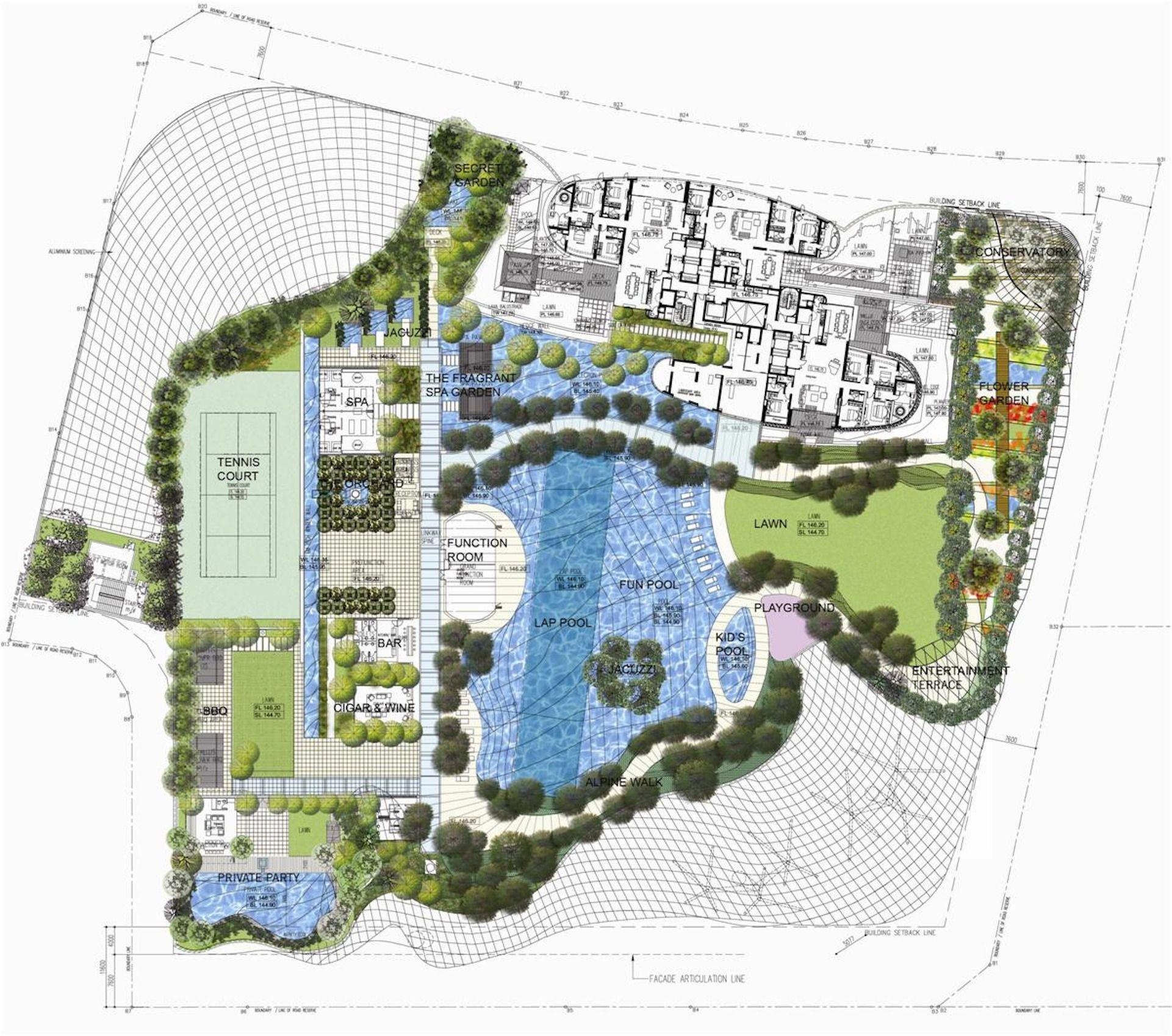 Ion Orchard Podium Plan How To Plan Green Architecture Podium