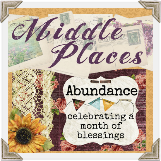 Abundance. because life in not supposed to be a contest to see who can collect the most stuff.