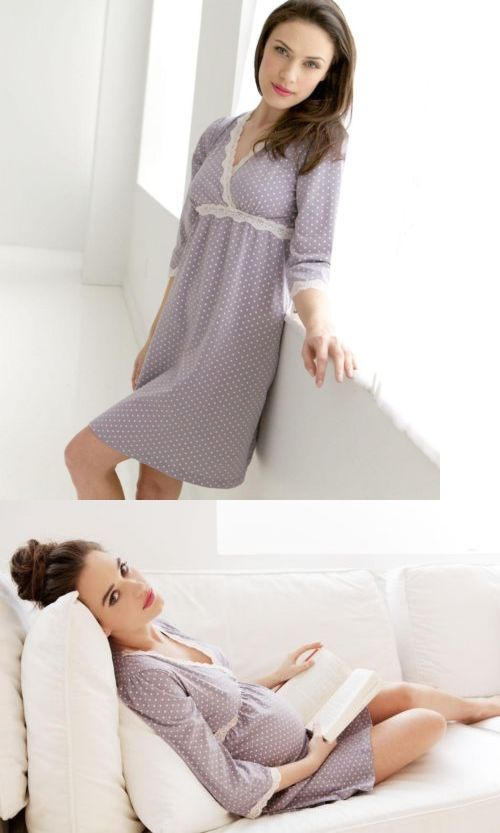 Sleepwear 15755: New Belabumbum Maternity Nursing Breastfeeding ...