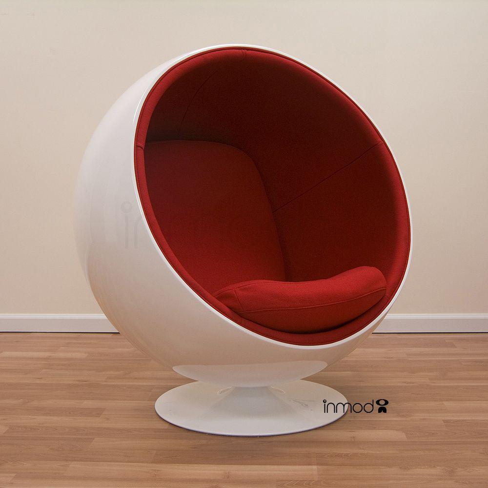 Eero Aarnio Ball Chair | Ball chair, Chairs and Style