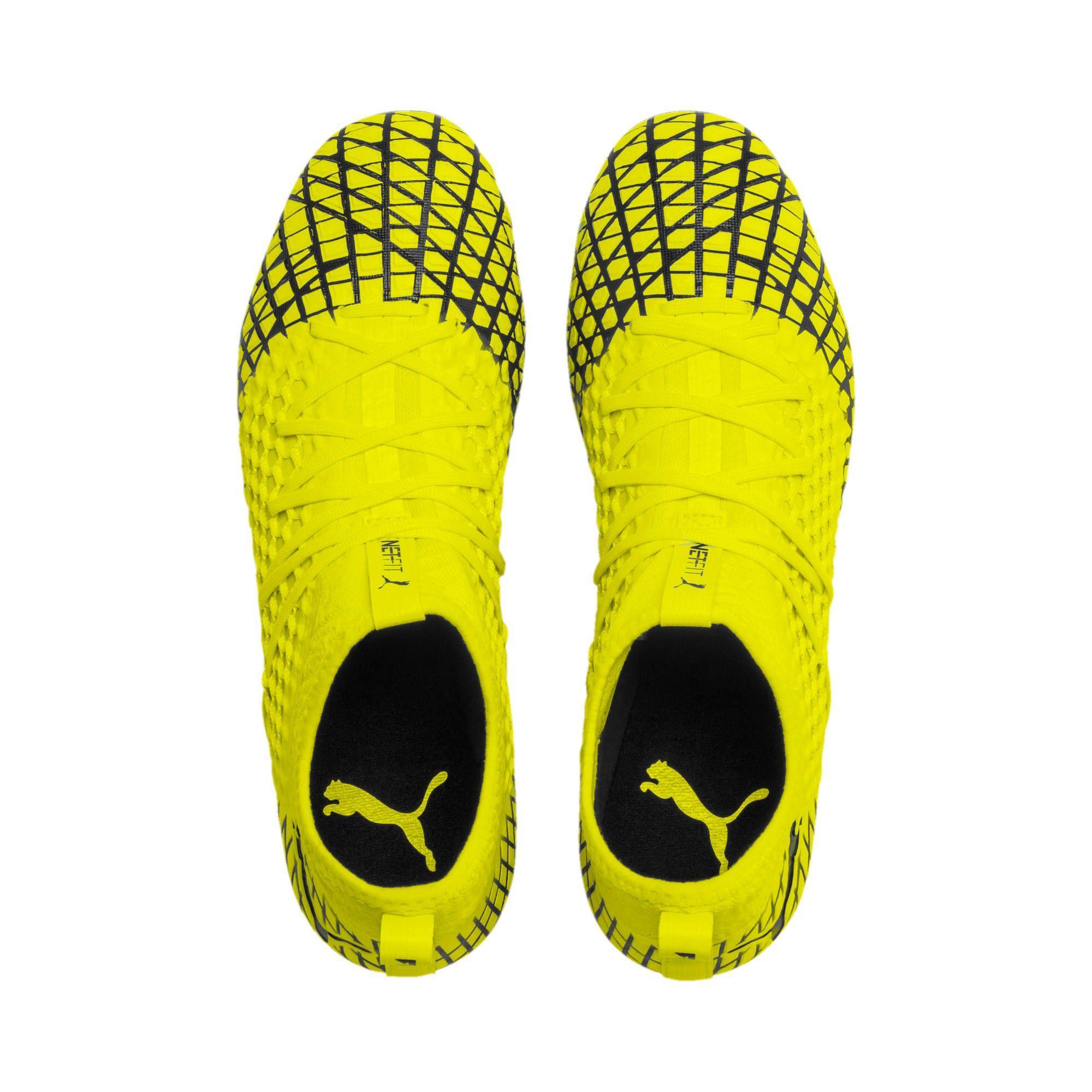 PUMA Future 4.3 NetFit FGAG Men's Football Boots in Yellow