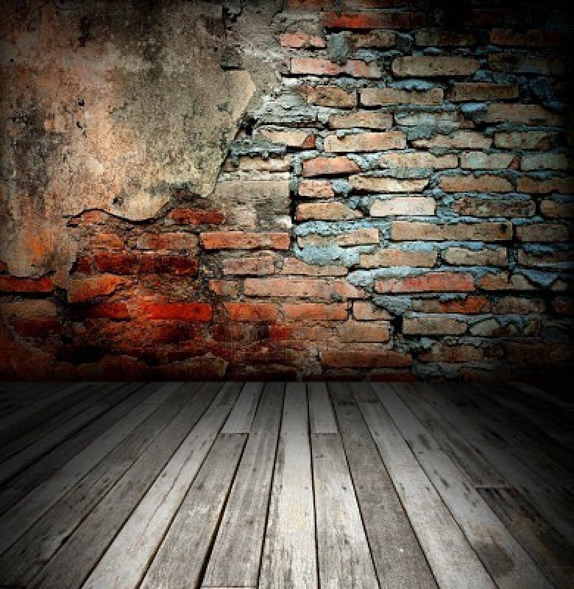beautiful Old Room With Brick Wall texture background ...