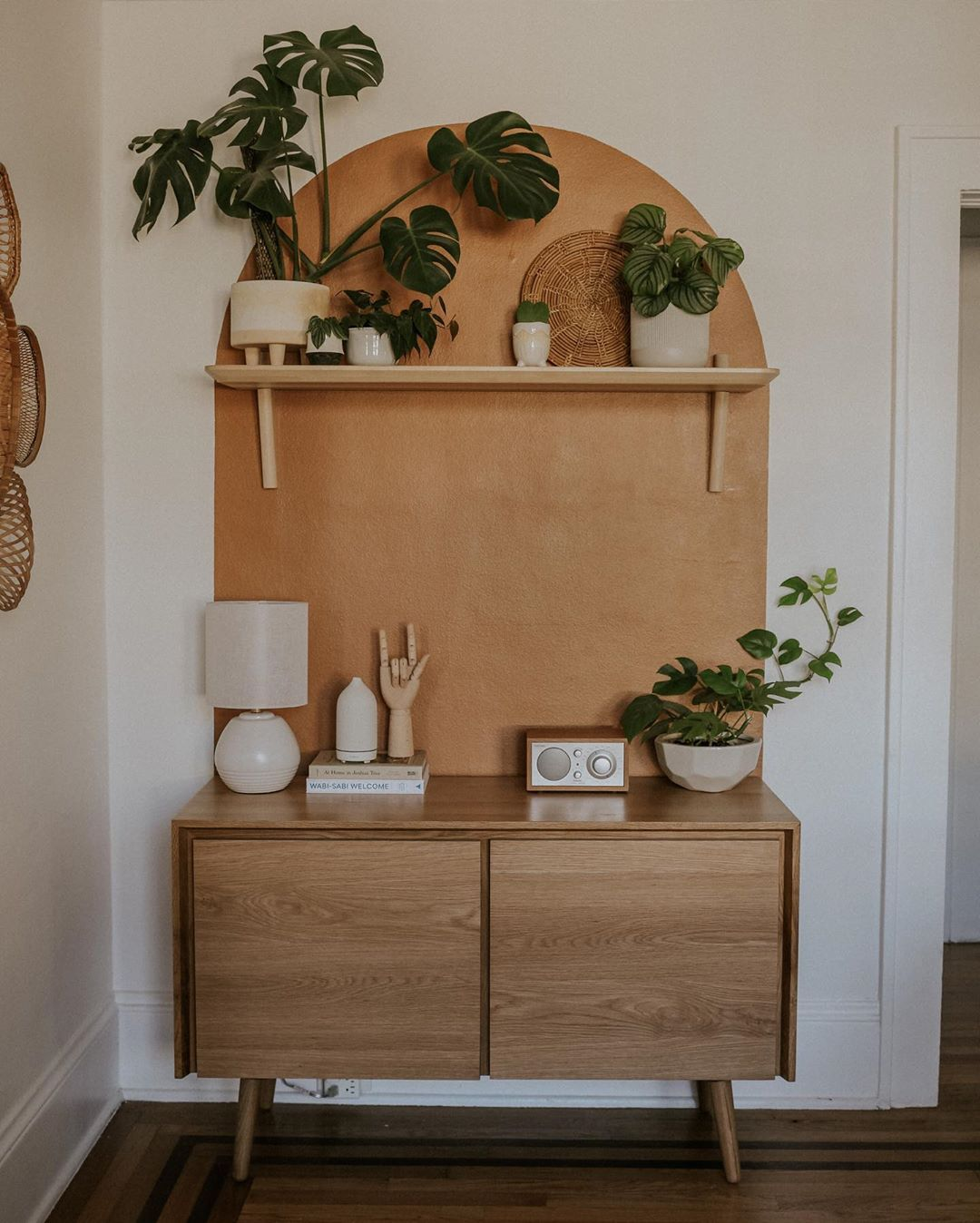 "Carla Natalia Thompson on Instagram: ""#ad Truly in love with my new piece of furniture from @article, the #senosideboard!  I had so much fun creating this space to showcase my…"""