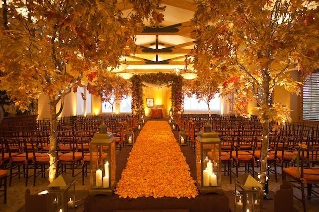 Fall Wedding Reception Decorations On A Budget
