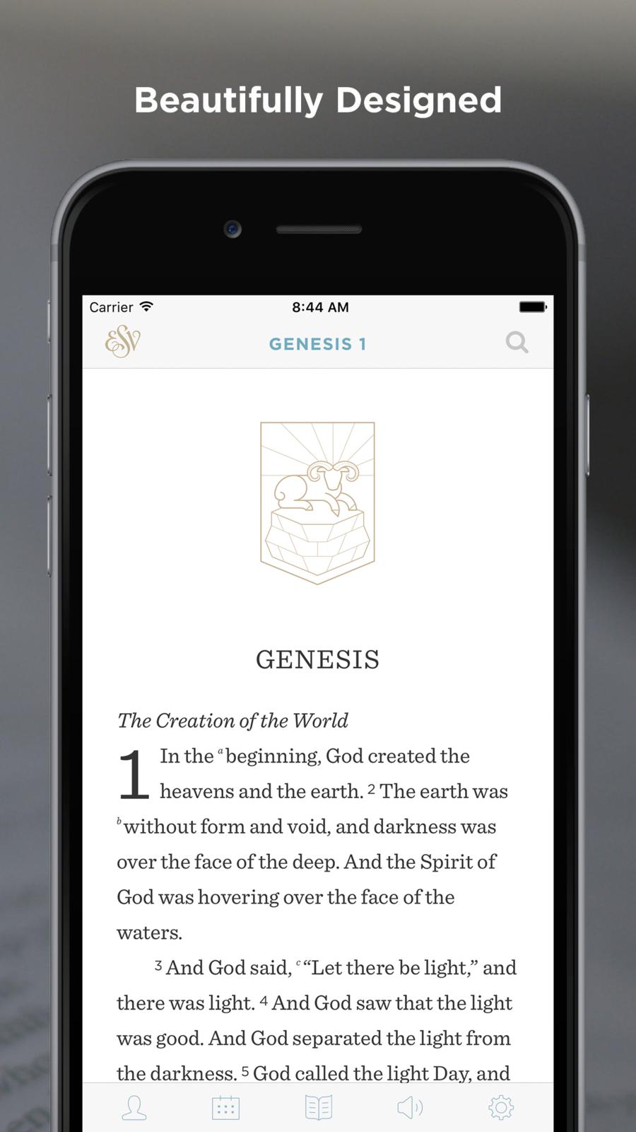 ESV Bible iosBooksappapps Esv bible, Bible, Book app