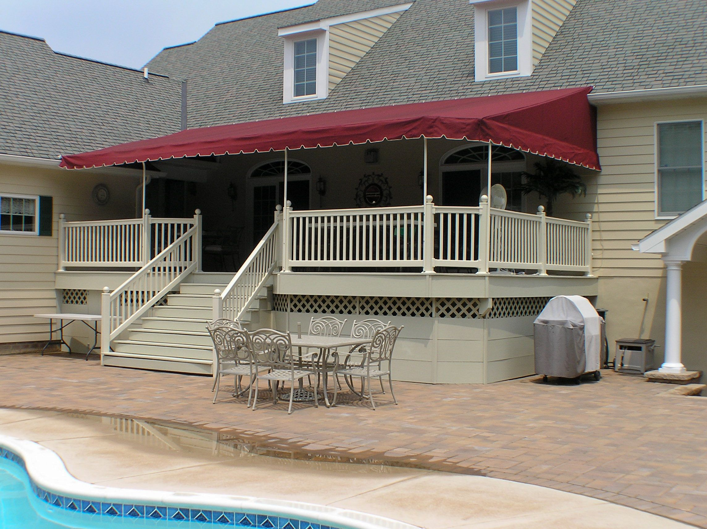 awning jefco deck archives for stationary patio awnings manufacturing application decks porch