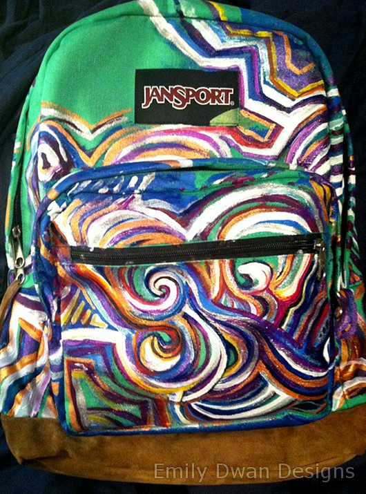 Pin by Caitlyn Daniels on Bags   Painting backpack, Jansport
