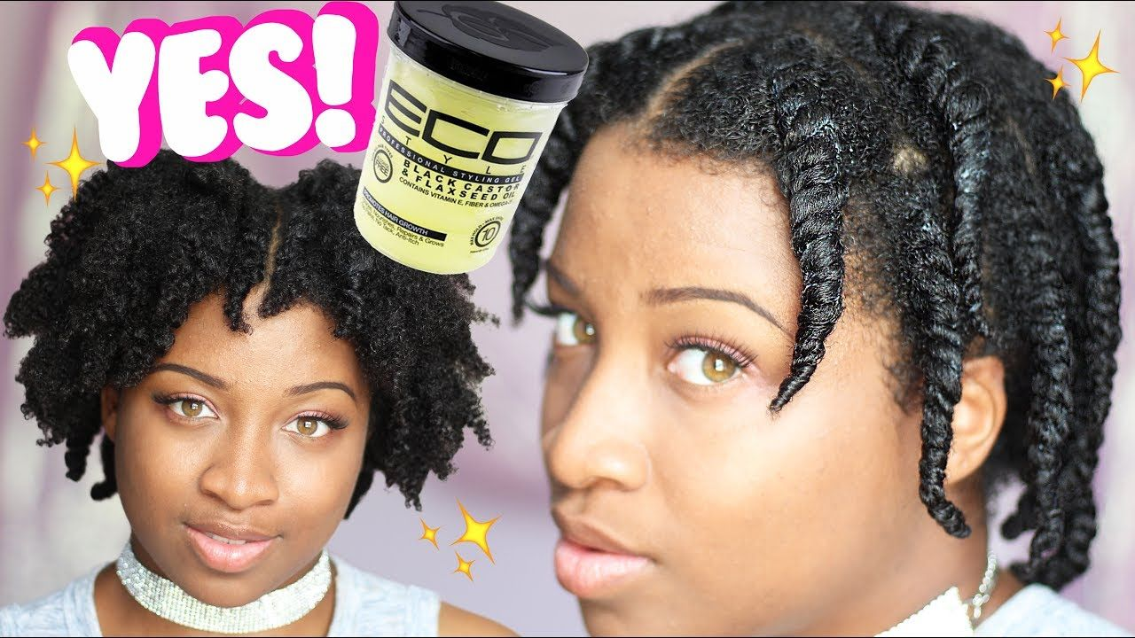 Is Black Castor Flaxseed Oil Eco Styler The Best For Type 4 Twist Out Natural Hair Twist Out Natural Hair Styles Twist Outs