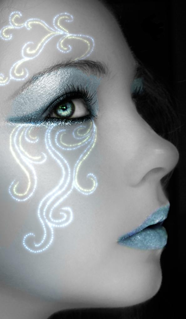 die besten 25 air makeup ideen auf pinterest fairy make up meerjungfrau fantasy make up und. Black Bedroom Furniture Sets. Home Design Ideas