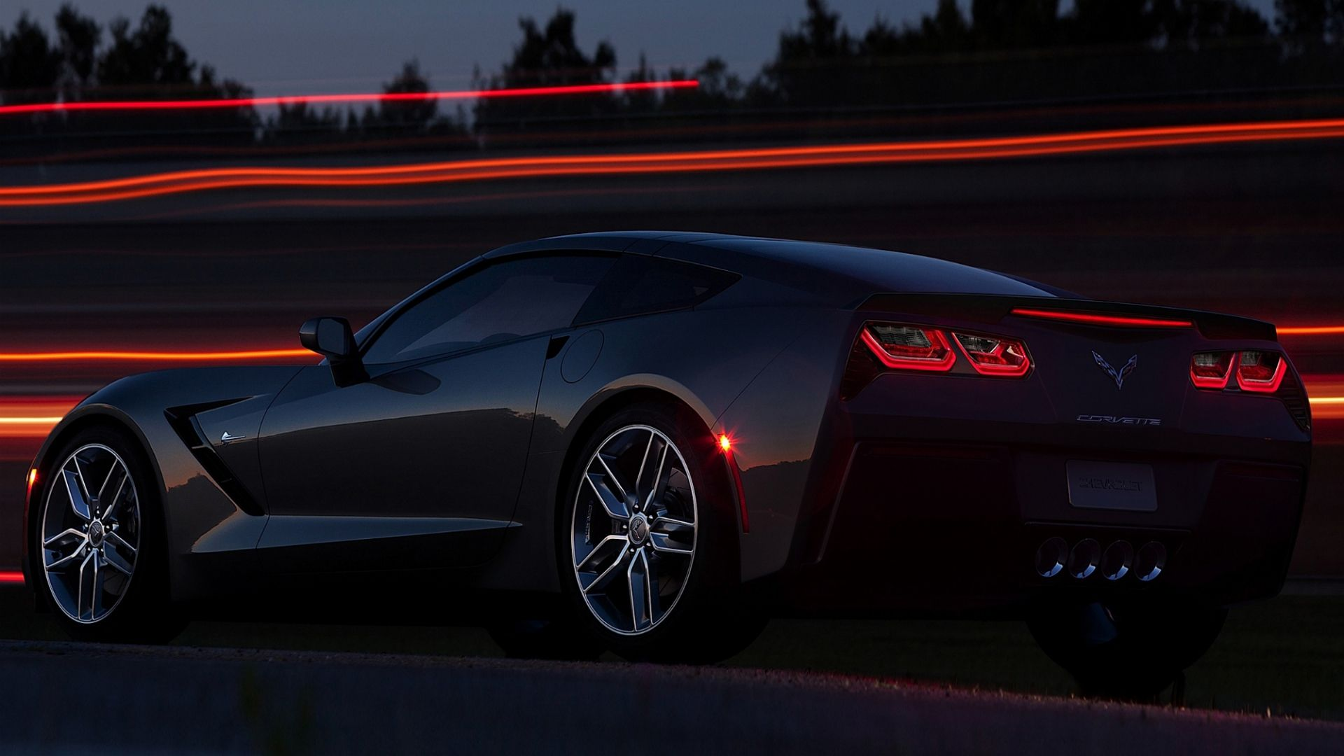 1920x1080 wallpaper chevrolet corvette stingray c7