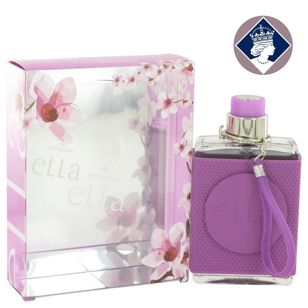 Victorinox Swiss Army Ella 75ml/2.5oz Eau De Toilette Spray Women EDT Fragrance