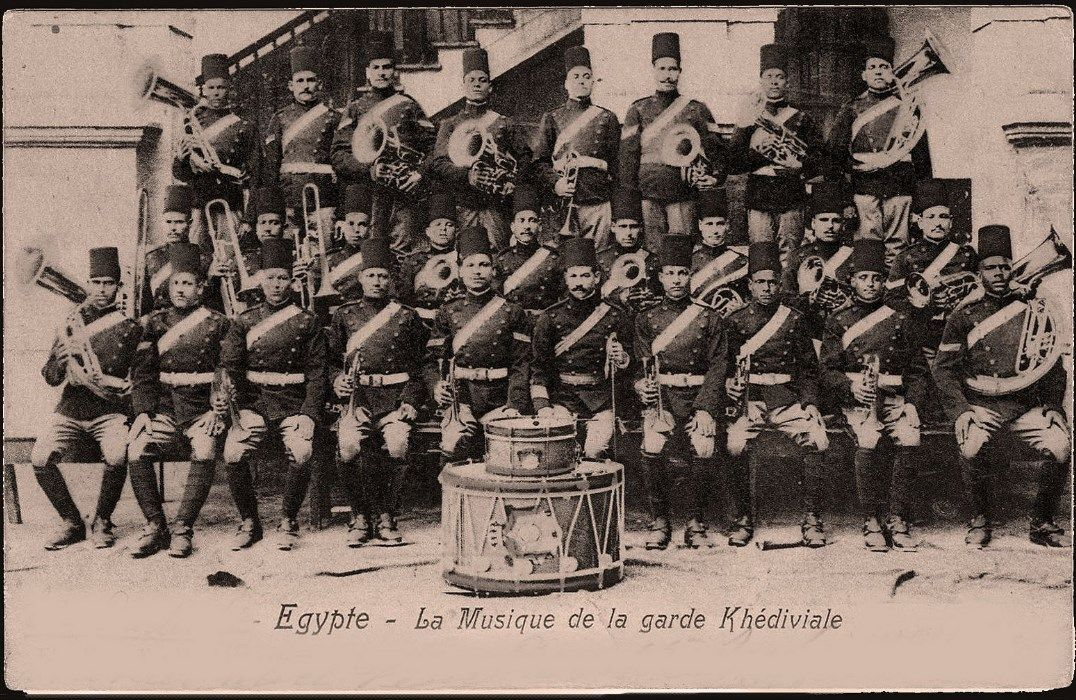 Khedivial Guard Band In 1905 Old Egypt Egypt History