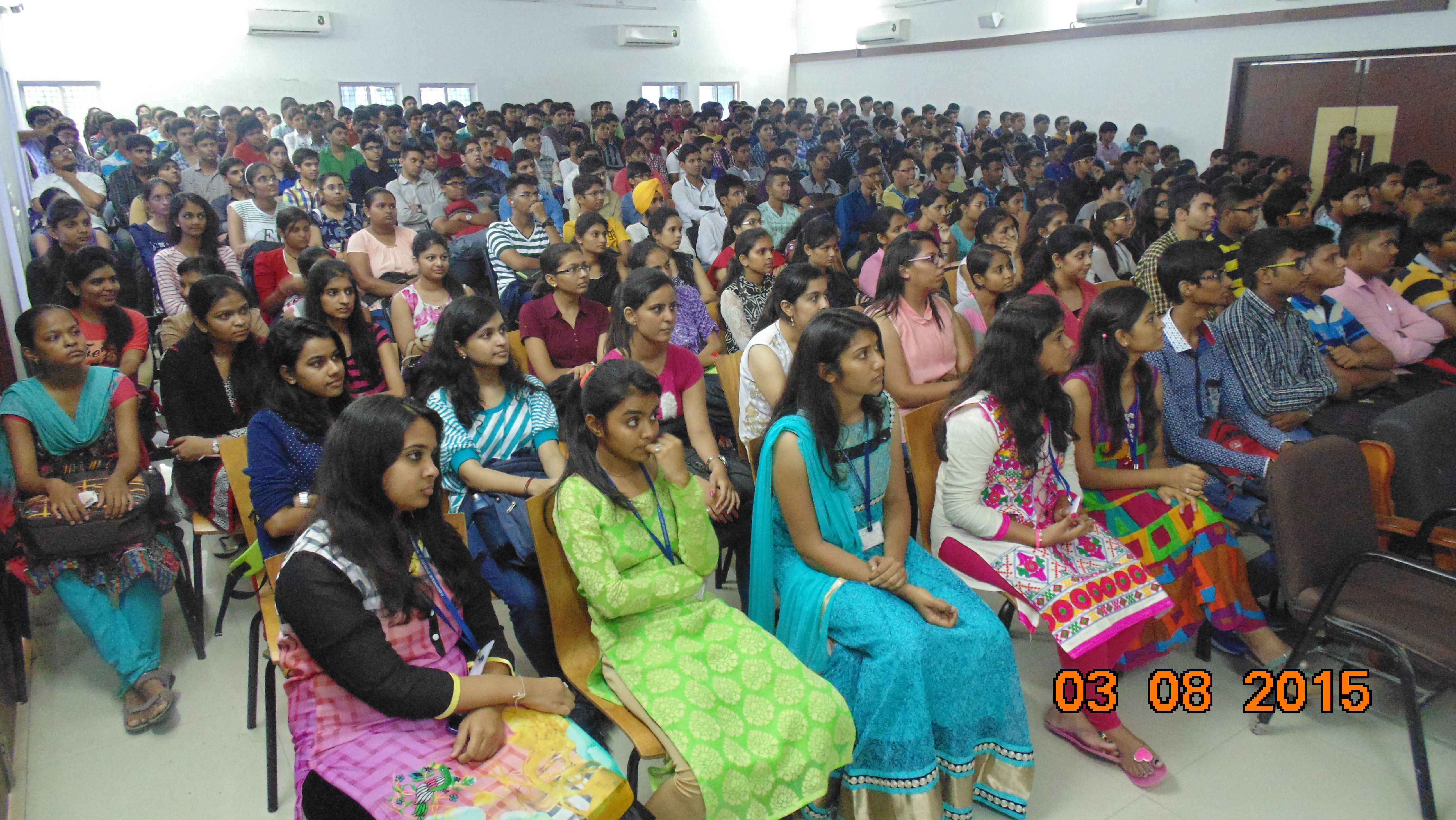Orientation Program for BE First year students on 3/08