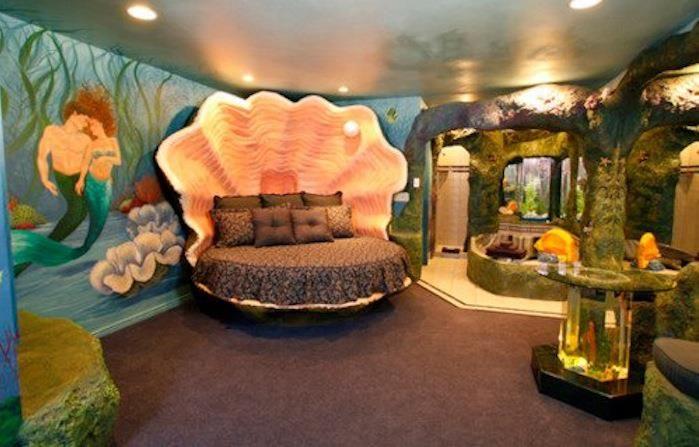 Desslife Favorite Bedroom Friday Seashell Bed For Mermaids