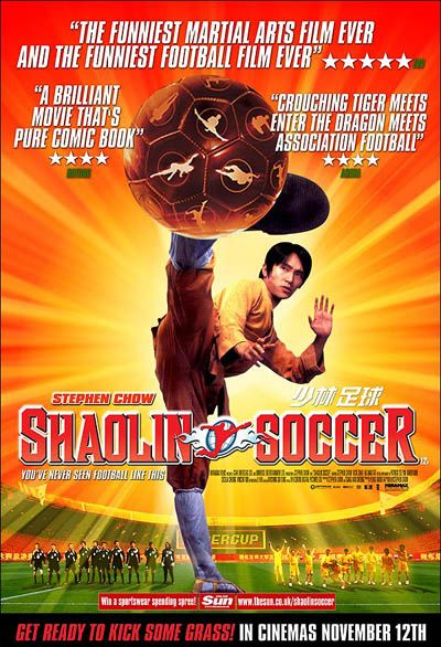 Stephen Chow In Shaolin Soccer Affiche Film Shaolin Soccer Film