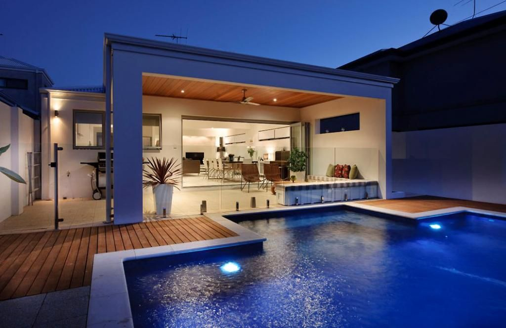What Is The Average Cost Of Building A Pool Deck Hipages Com Au Pool Houses Building A Pool Pool Designs