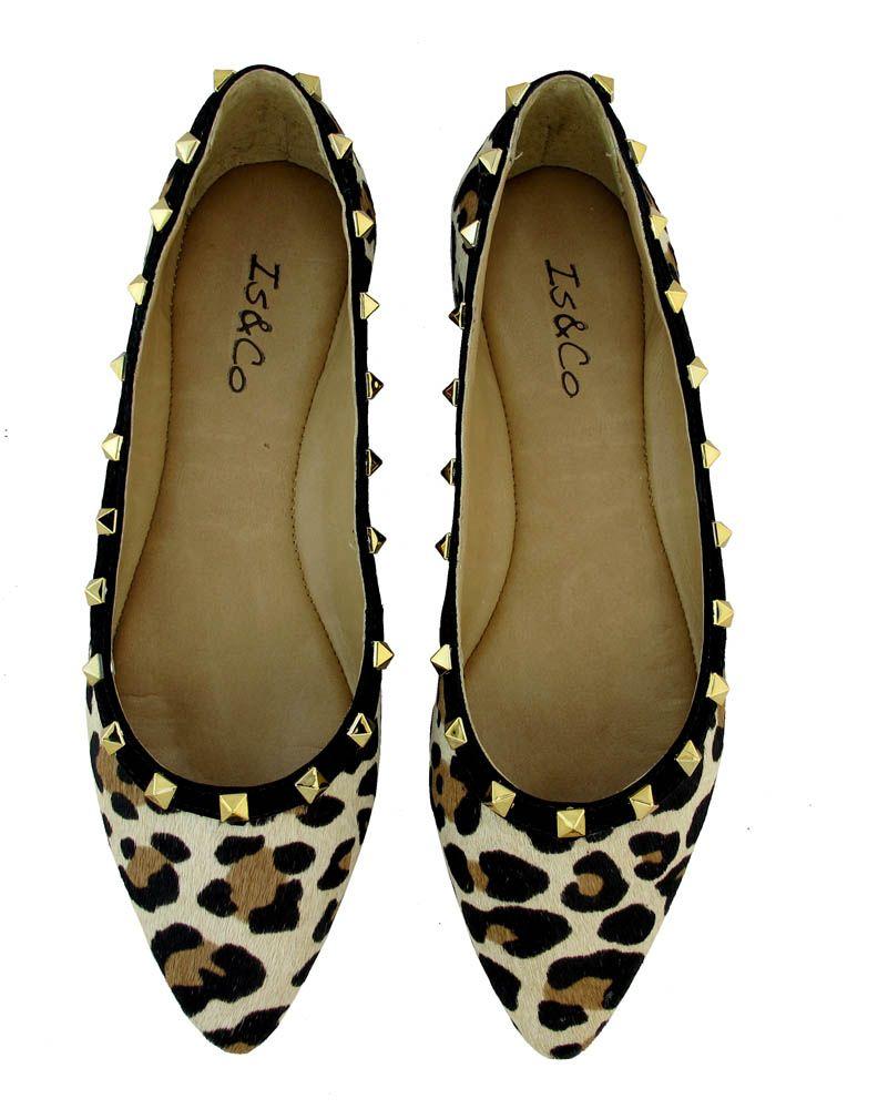 Sapatilha leopardo inspiração Valentino :: Is & Co