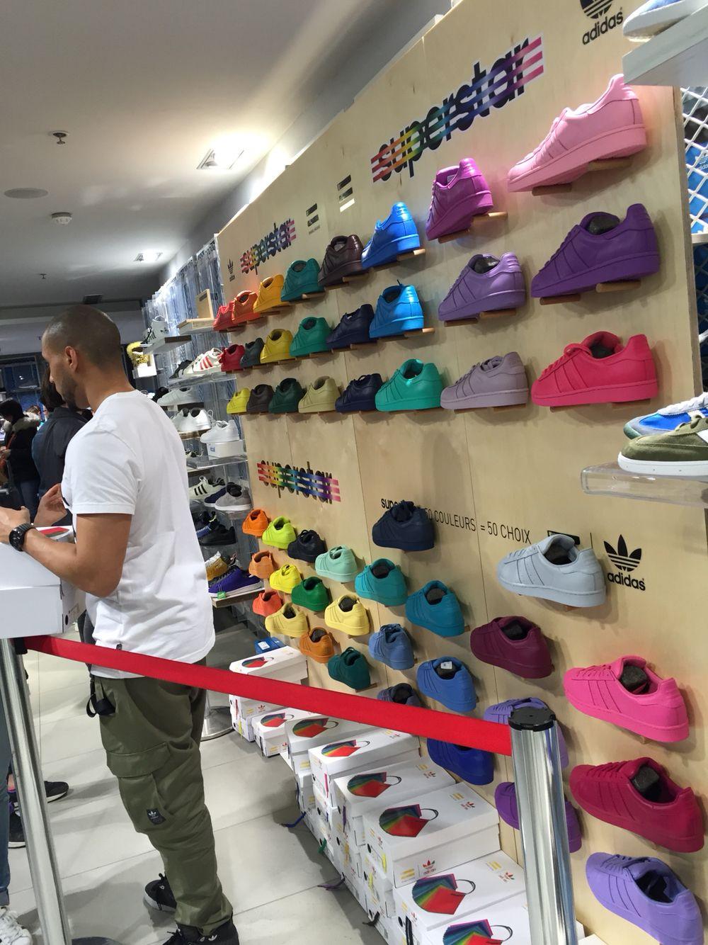 Adidas Superstar Adidas store 22 avenue