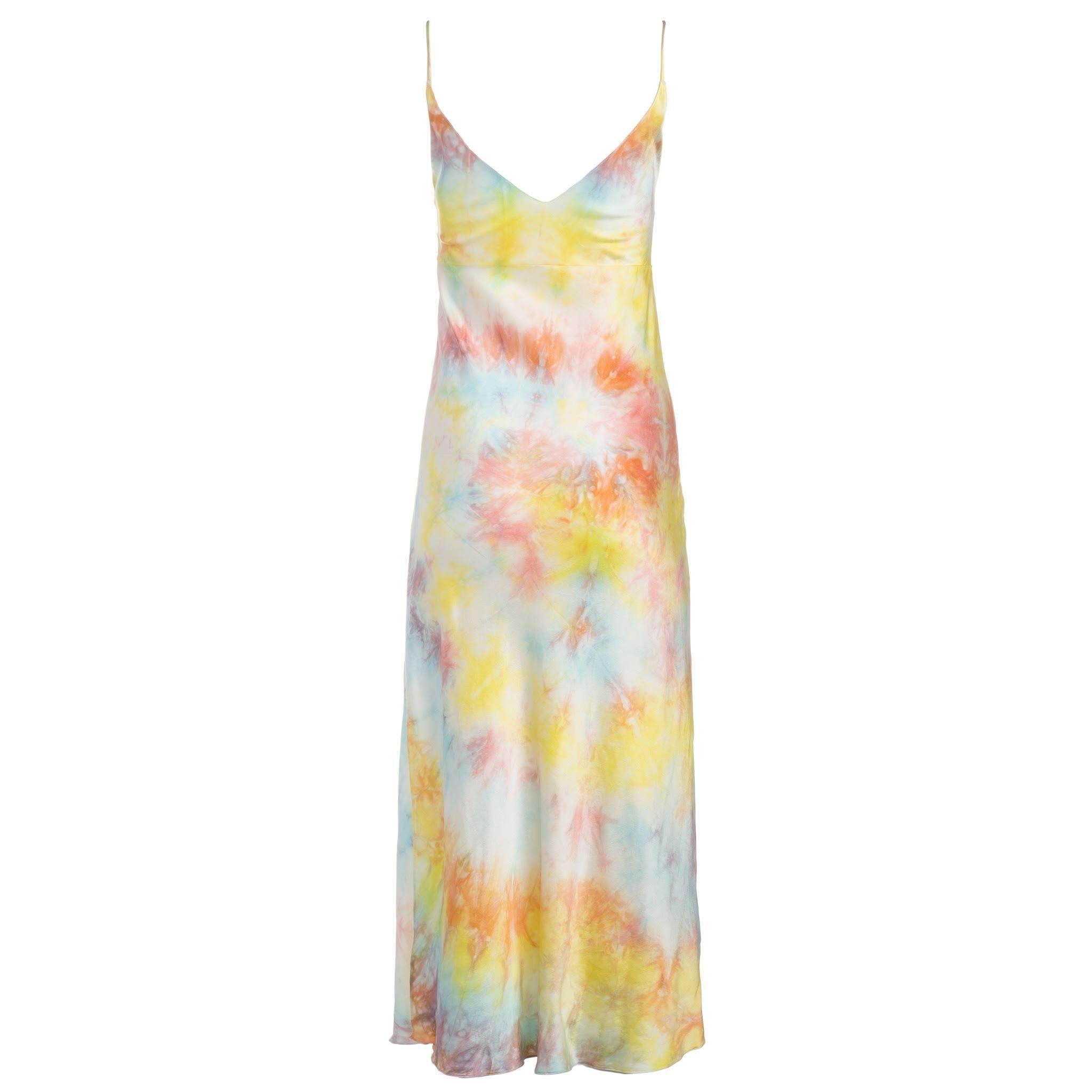 2a13b57b9f36b Tie Dye Slip Dress in 2019   Get In My Closet   Silk slip, Tie Dye ...
