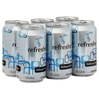 Refreshe Seltzer Water nutrition data at Calorie Count