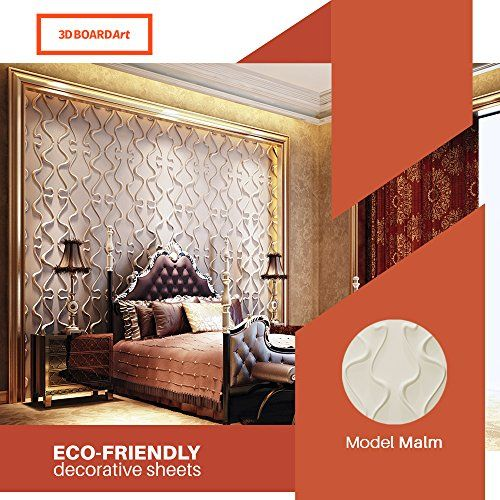 Decorative Tile Board 3D Board Art Decorative Wall Panels Pack Of 32 Square Feehttps