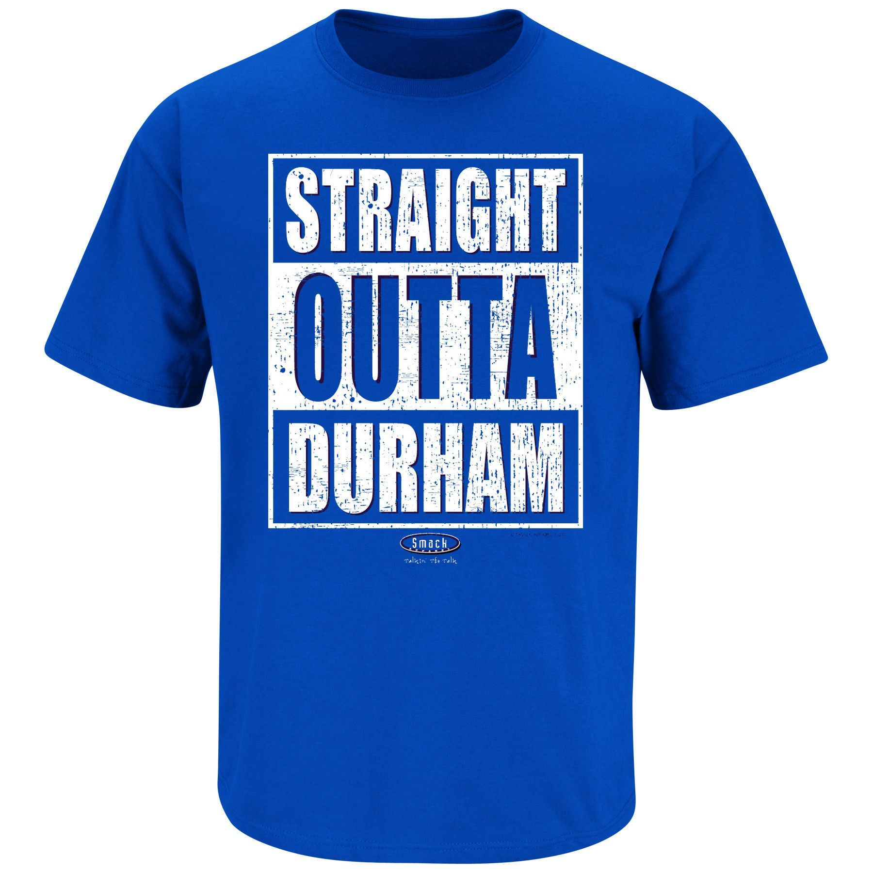 Duke Blue Devils Fans. Straight Outta Durham. TShirt