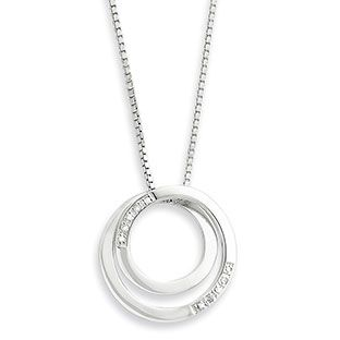 Sterling silver diamond circle pendant necklace jewelry available sterling silver diamond circle pendant necklace jewelry available exclusively at gemologica mozeypictures Choice Image