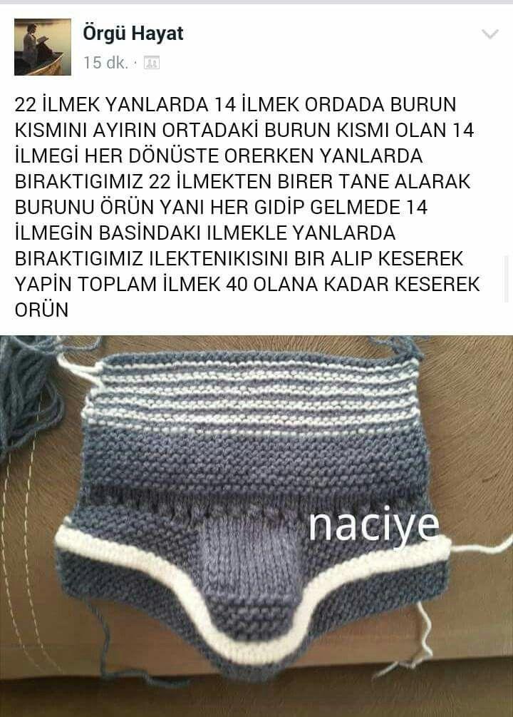 Pin de Hamide Güllü en Anlatımlı örgüler | Pinterest | Bebe ...