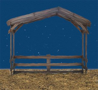 Christmas Stable Background.Stable For Backdrop Living Nativity Nativity Stable