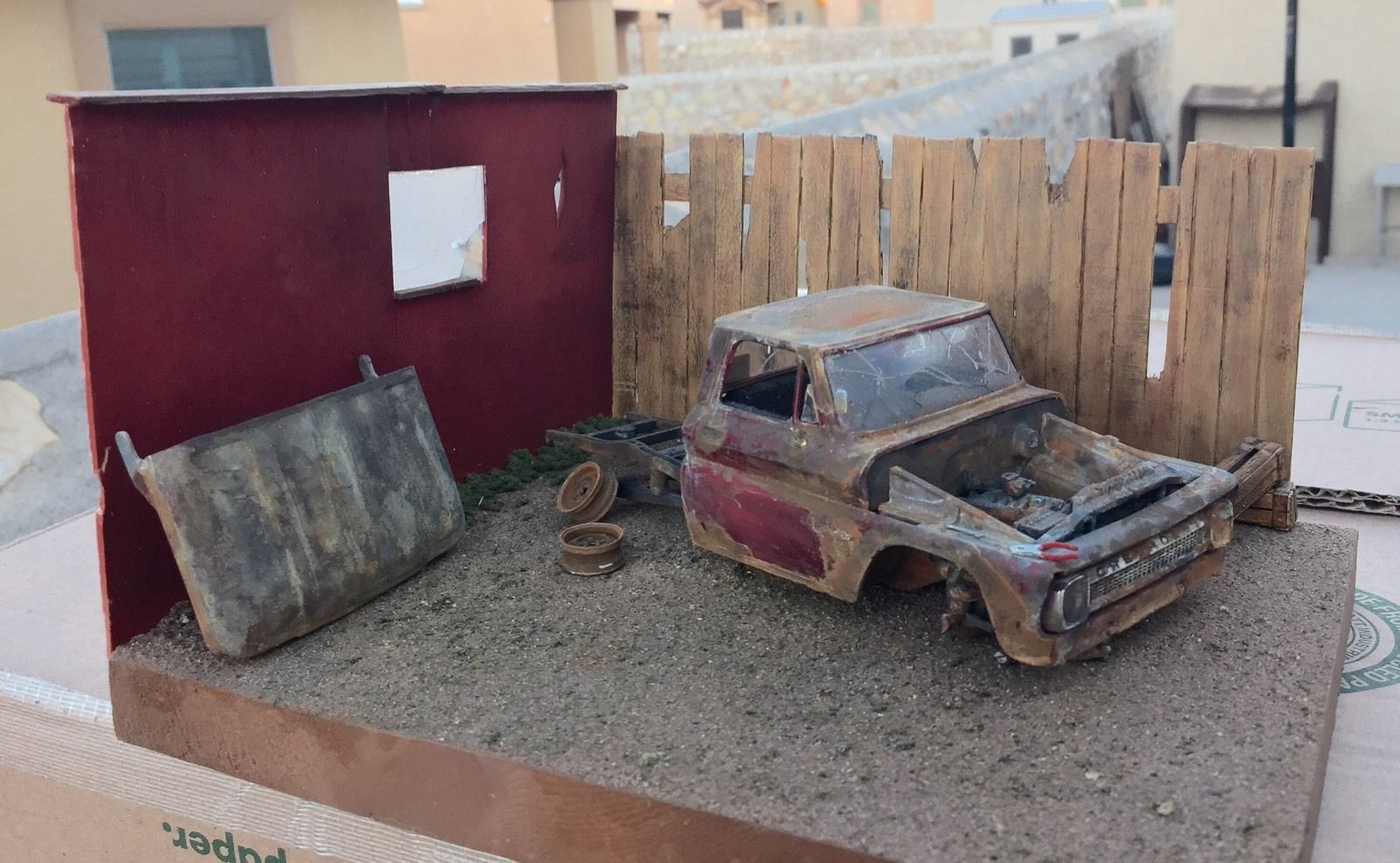 1964 64 1965 65 Chevy Pickup Truck Abandoned Junker Weathered ...