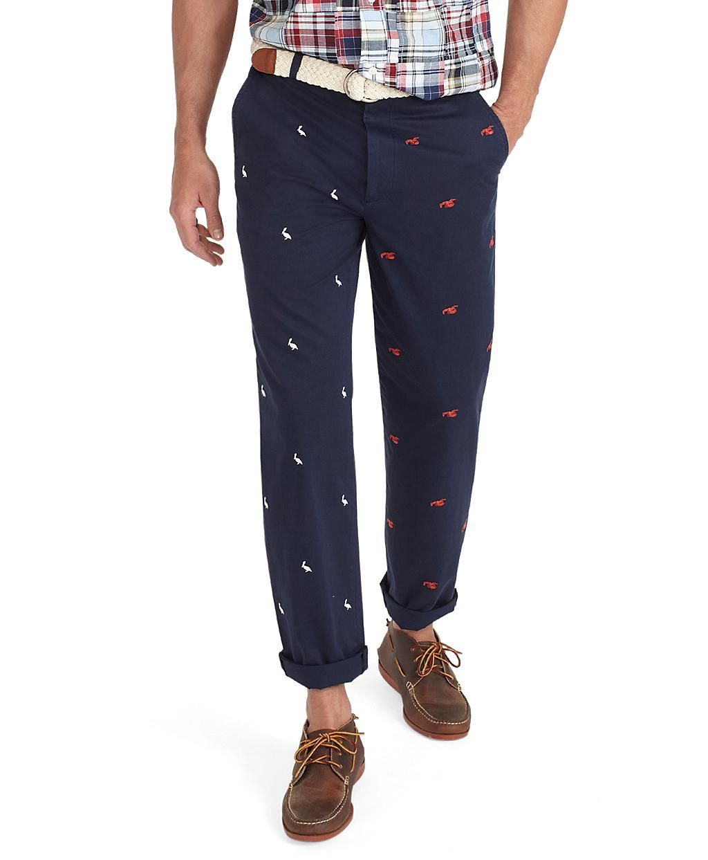 Clark Four-Panel Embroidered Pant. Brooks Brothers.  128 ... 9d5acc7ec