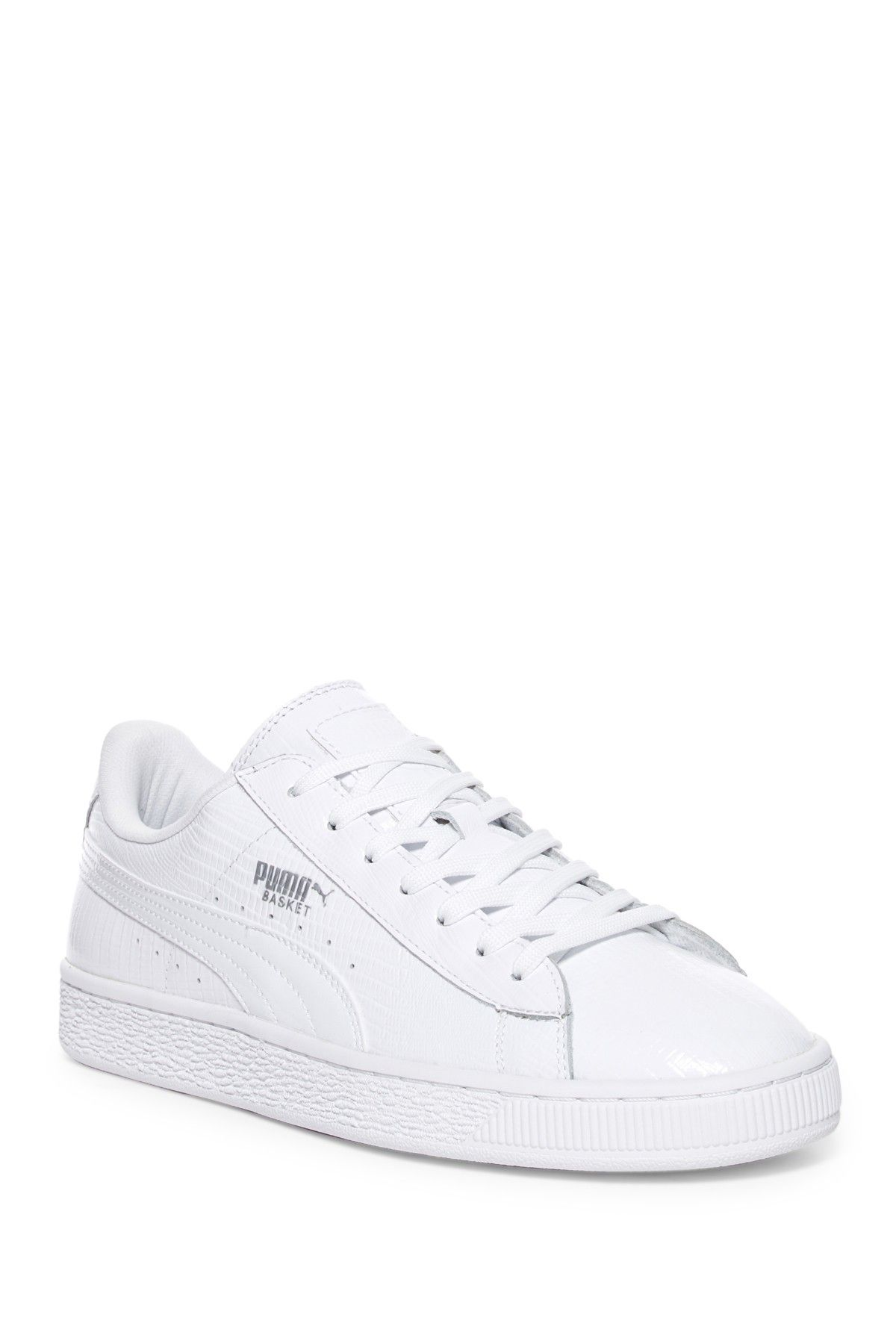 Puma Basket Classic White Trainers