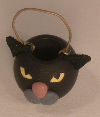 Black Cat Basket by Cristina Minischetti 101 Handmade Halloween