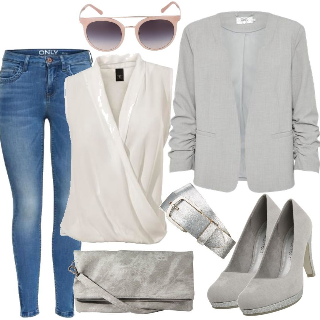 Silver Business Look für Damen zum Nachshoppen auf Stylaholic  outfits   styleinspiration  outfitideas   0baeefd4a4