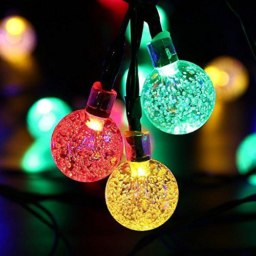 Solar String lights,Addlon Solar String decorative lighti House - solar christmas decorations