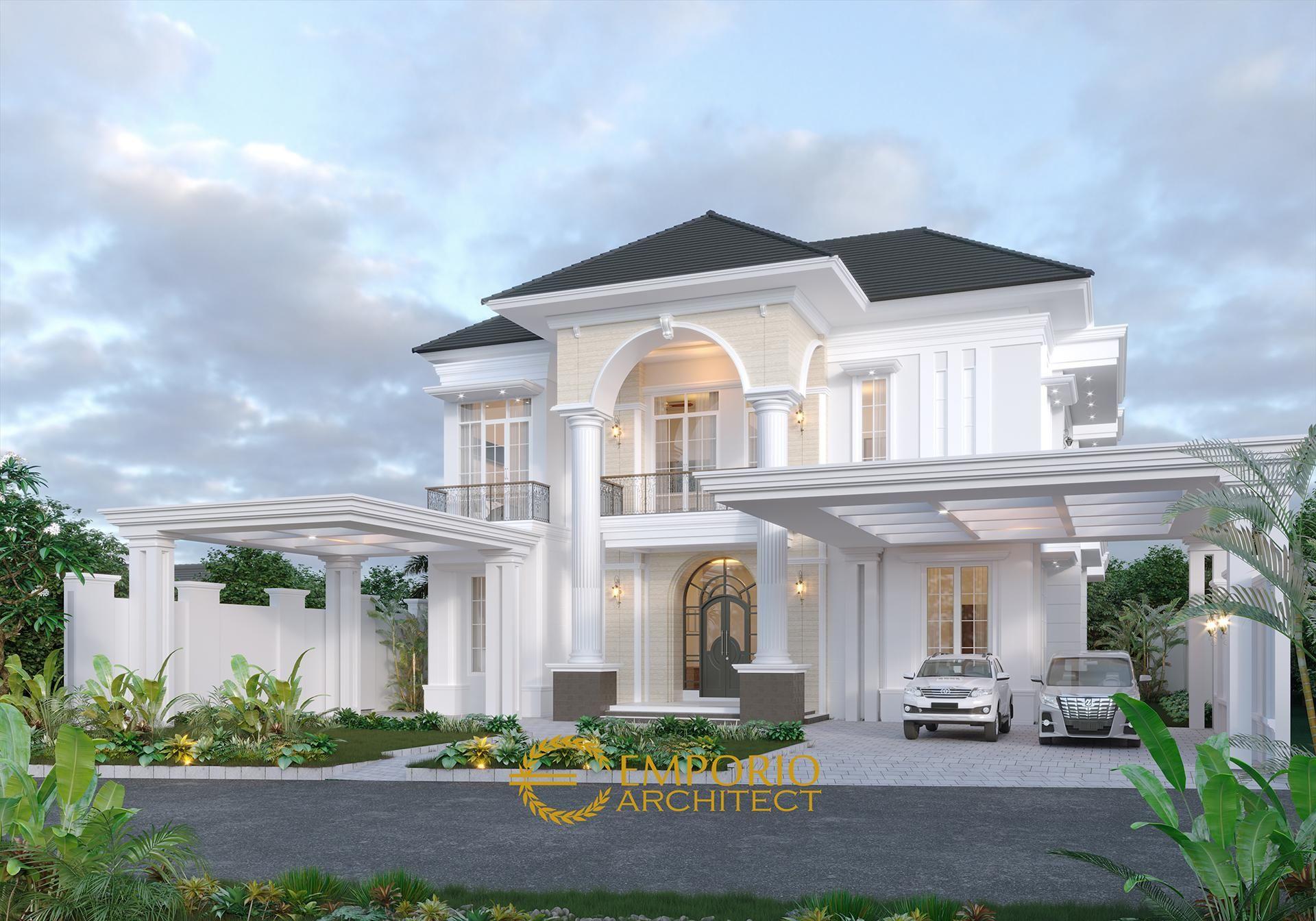 Desain Rumah Mediteran 2 Lantai Bapak Datuk Sabri Di Malaysia Desain Rumah Rumah Mewah Rumah
