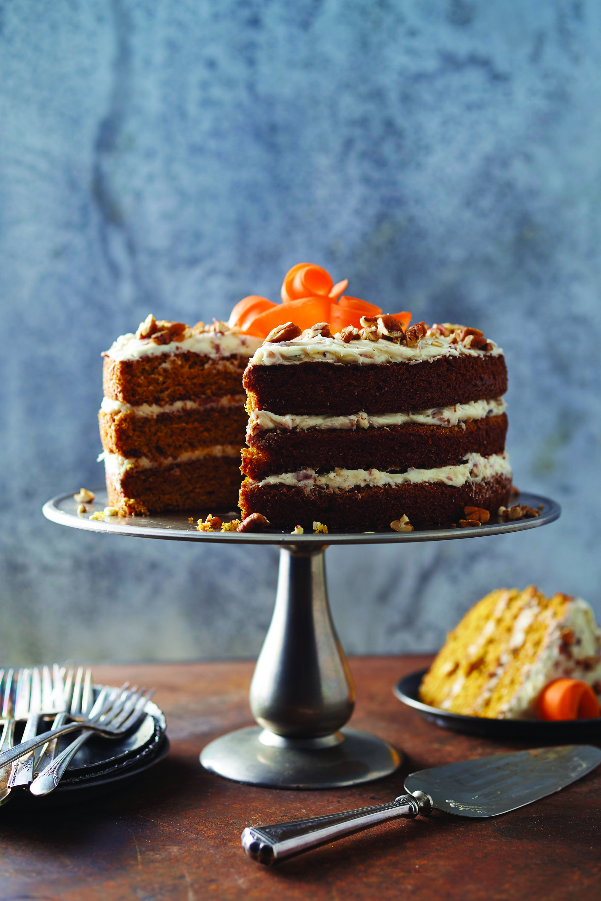 Valerie Bertinelli\'s Carrot Cake with Cream Cheese Frosting Recipe ...