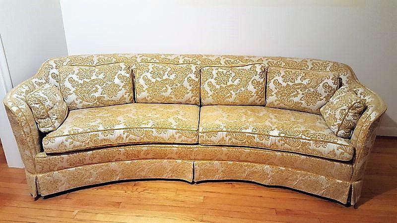 Crescent Shaped Sofa Amazing S Shaped Sofa For Shape 83