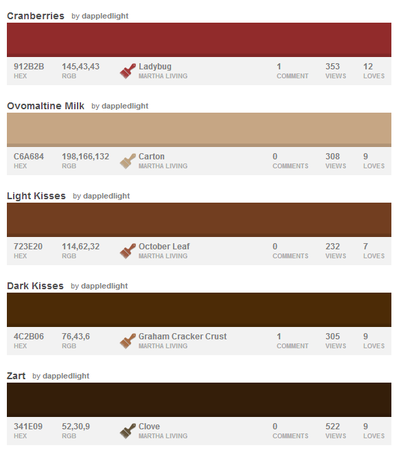 10 Perfect Palettes for Thanksgiving Design