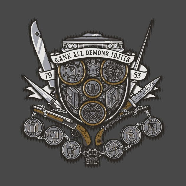 Awesome 'Winchester's Crest' design on TeePublic!