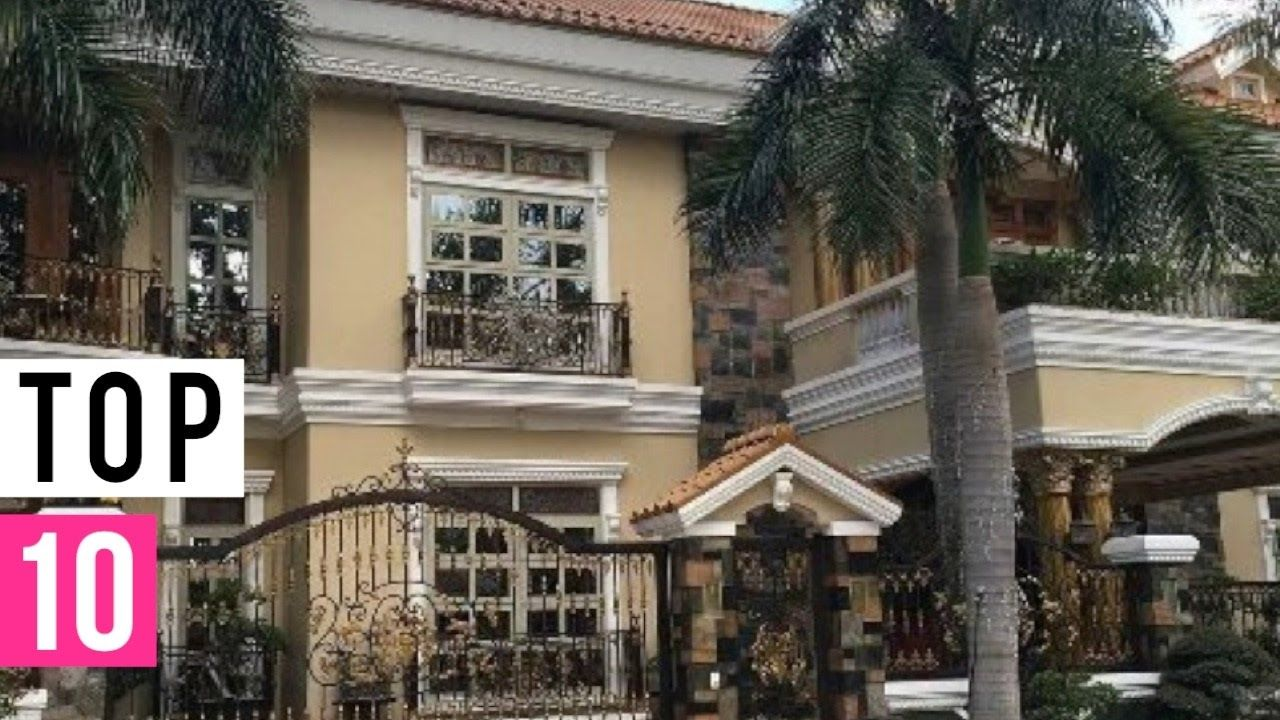 Top 10 Young Celebrity Houses Mansions Philippines