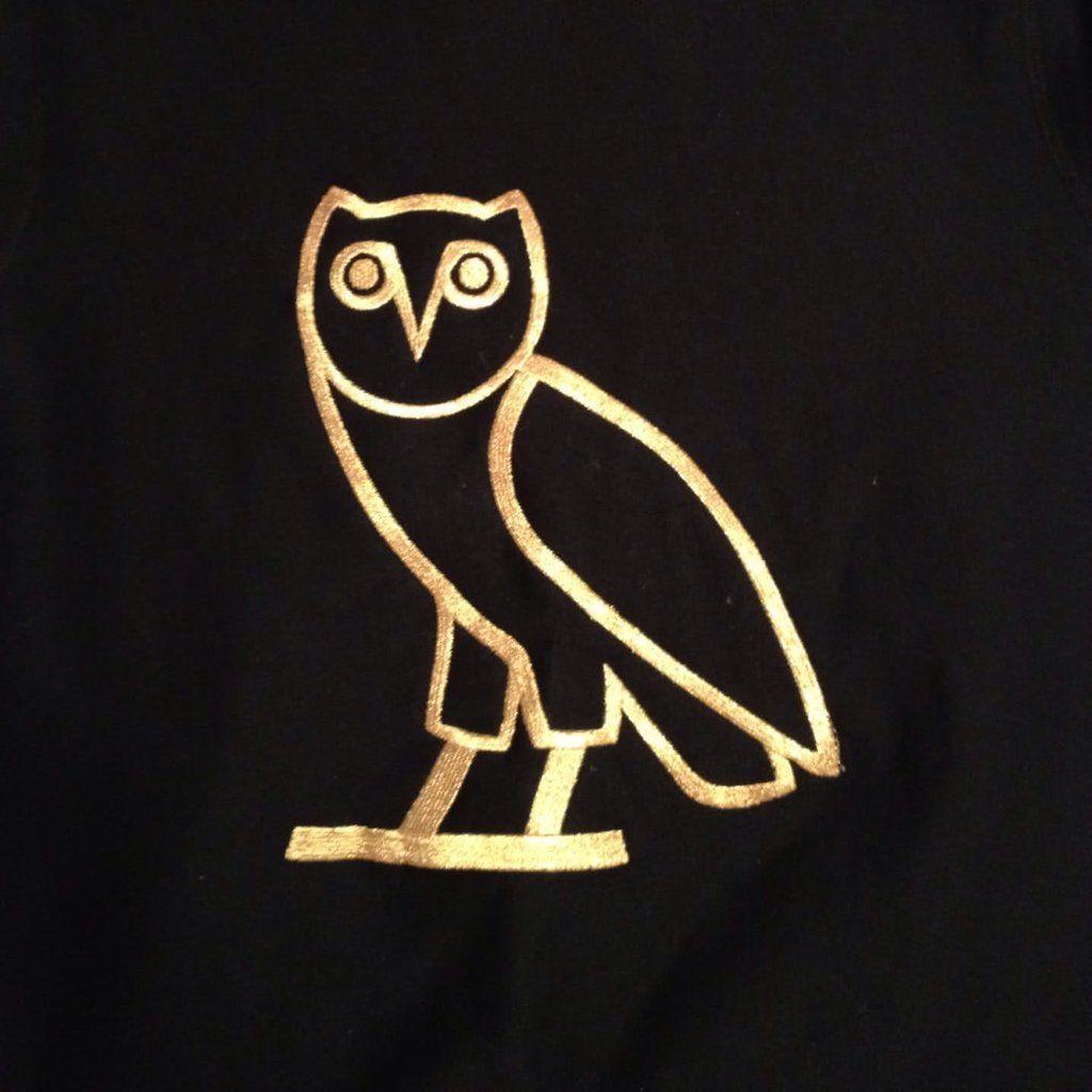 Ovo owl sticker gold silver 1 3 12