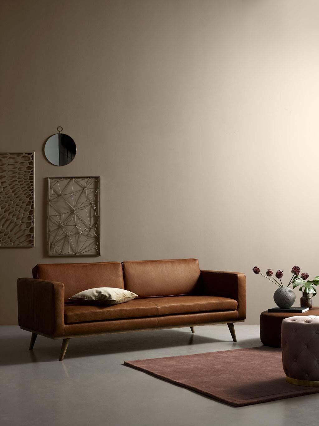 Johan Sofacompany Nl Ledersofa Design 3 Sitzer Sofa