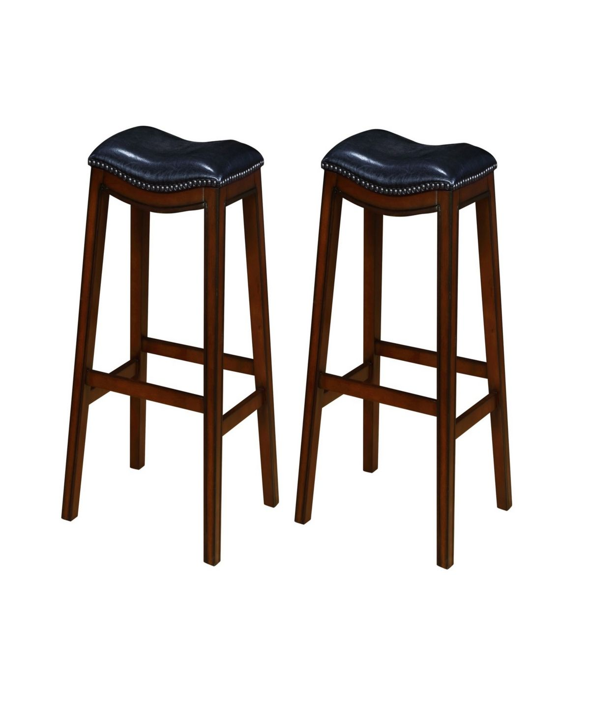 Coaster Home Furnishings Bonifacio Upholstered Backless Bar Stools