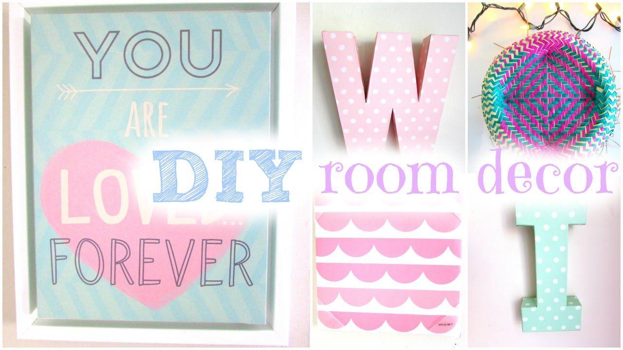 Diy Spring Room Decor Cute Cheap Easy Tips How To Stay Organized Diy Room Decor For Teens Diy Room Decor Bedroom Organization Diy