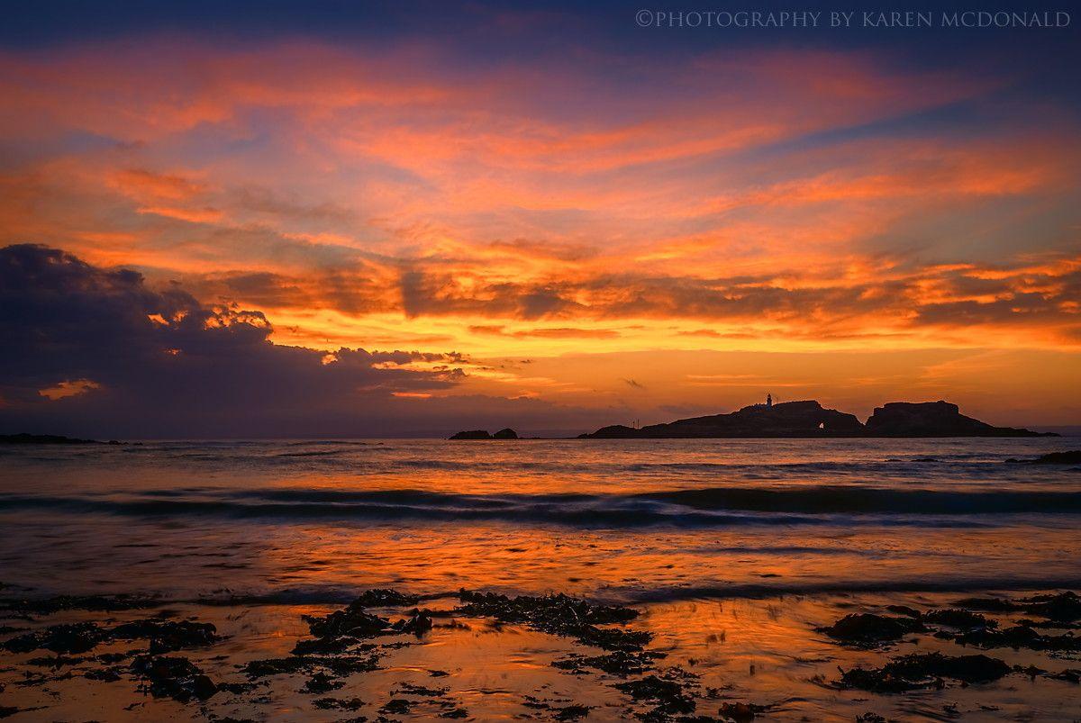 Sunset at Yellowcraigs by Karen McDonald on 500px