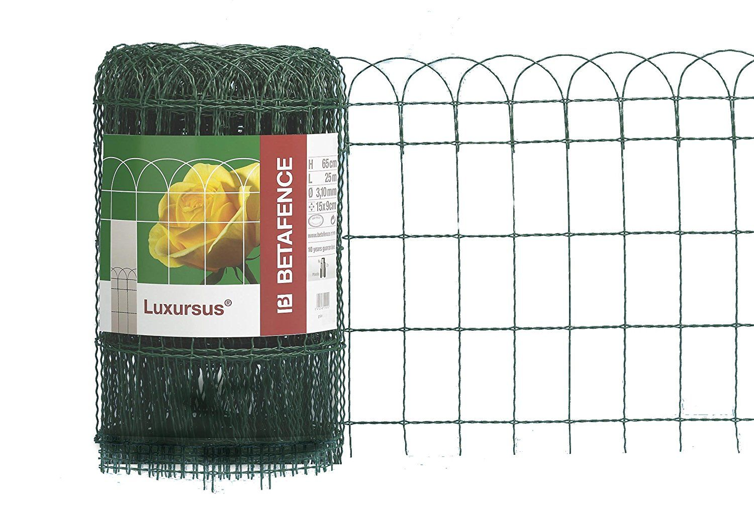Luxursus Ral 6073 Welded Mesh Fence Wire Thickness 2 4 3 0 Mm Mesh Width 150 X 90 Mm Green 400 Mm Hhe 25 M Rolle Continue Wire Fence Mesh Fencing Fence