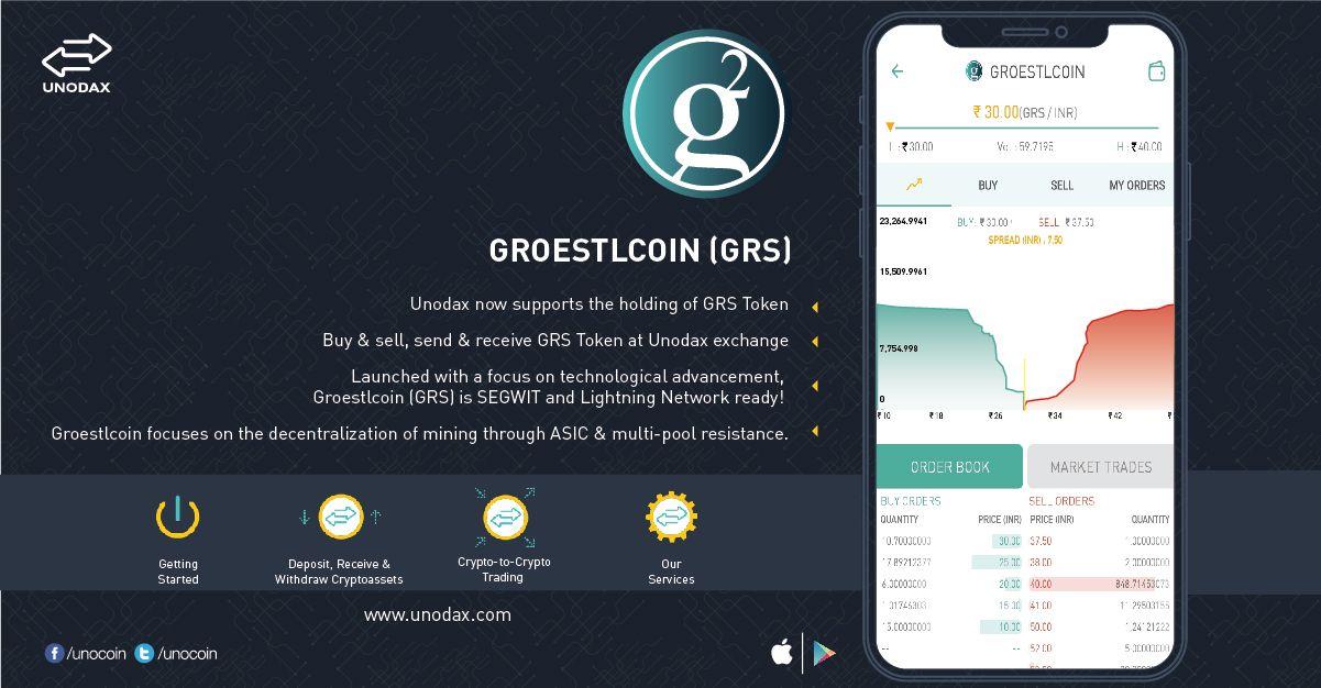 GRS Groestlcoin coin